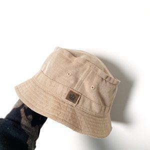 Vintage Tan Classic Outdoor Bucket Hat